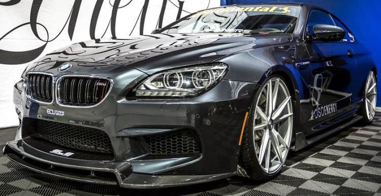 Zenetti Venice on BMW M6 Project Vehicle